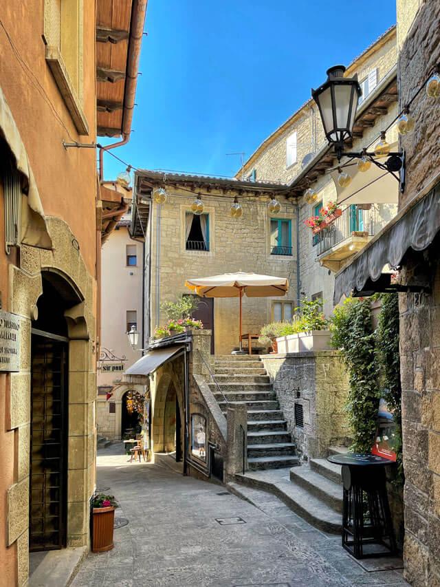 San Marino ha tanti scorci pittoreschi da vedere e fotografare