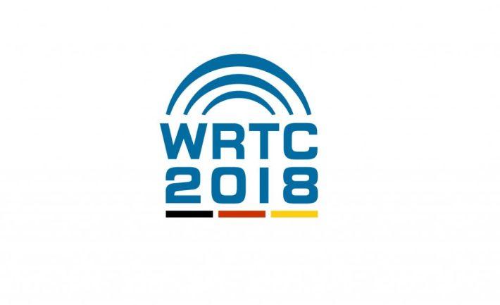 WRTC 2018 -kilpailun logo.