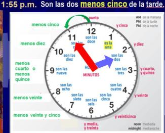 TIME DEMO2 1-30 miutes before the hour