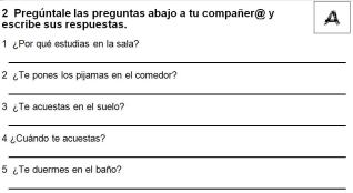 2A Preguntas para tu companero