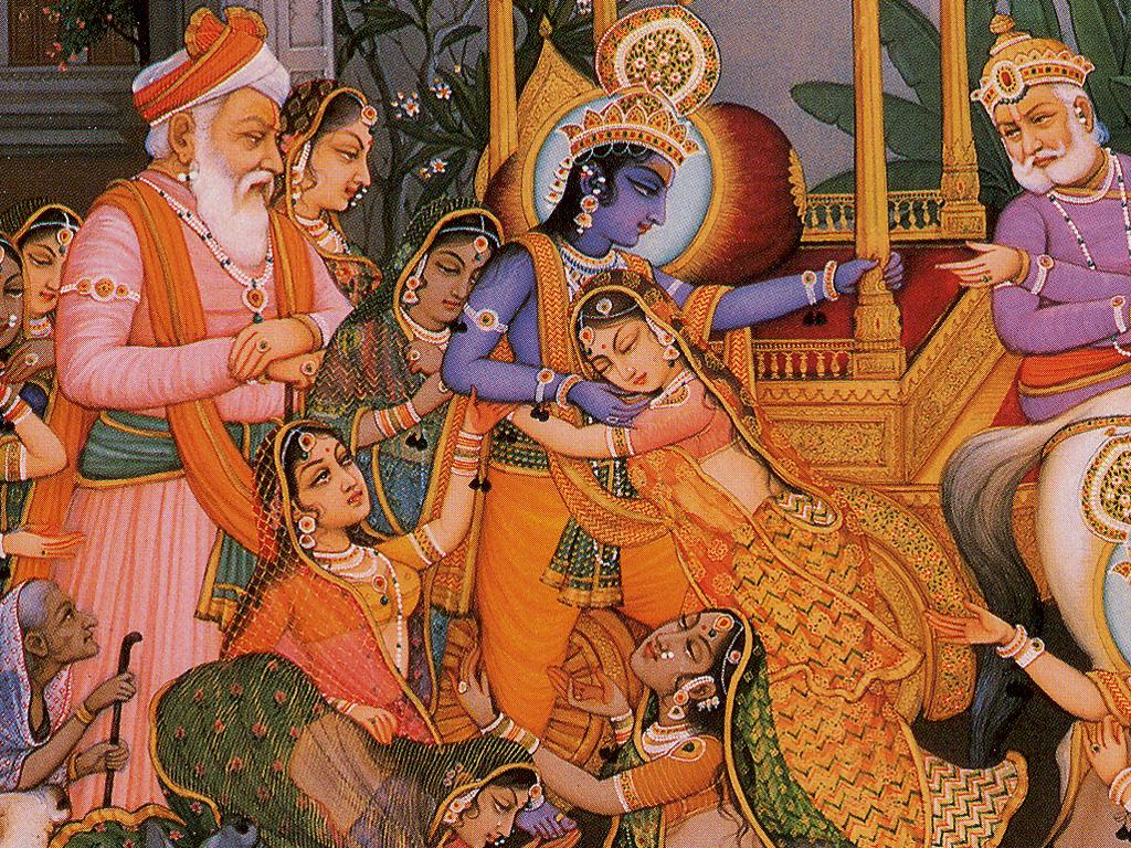 Sri Rudra's Krishna Mantra