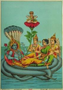 Figure 3 : Garbhodakasayi Vishnu