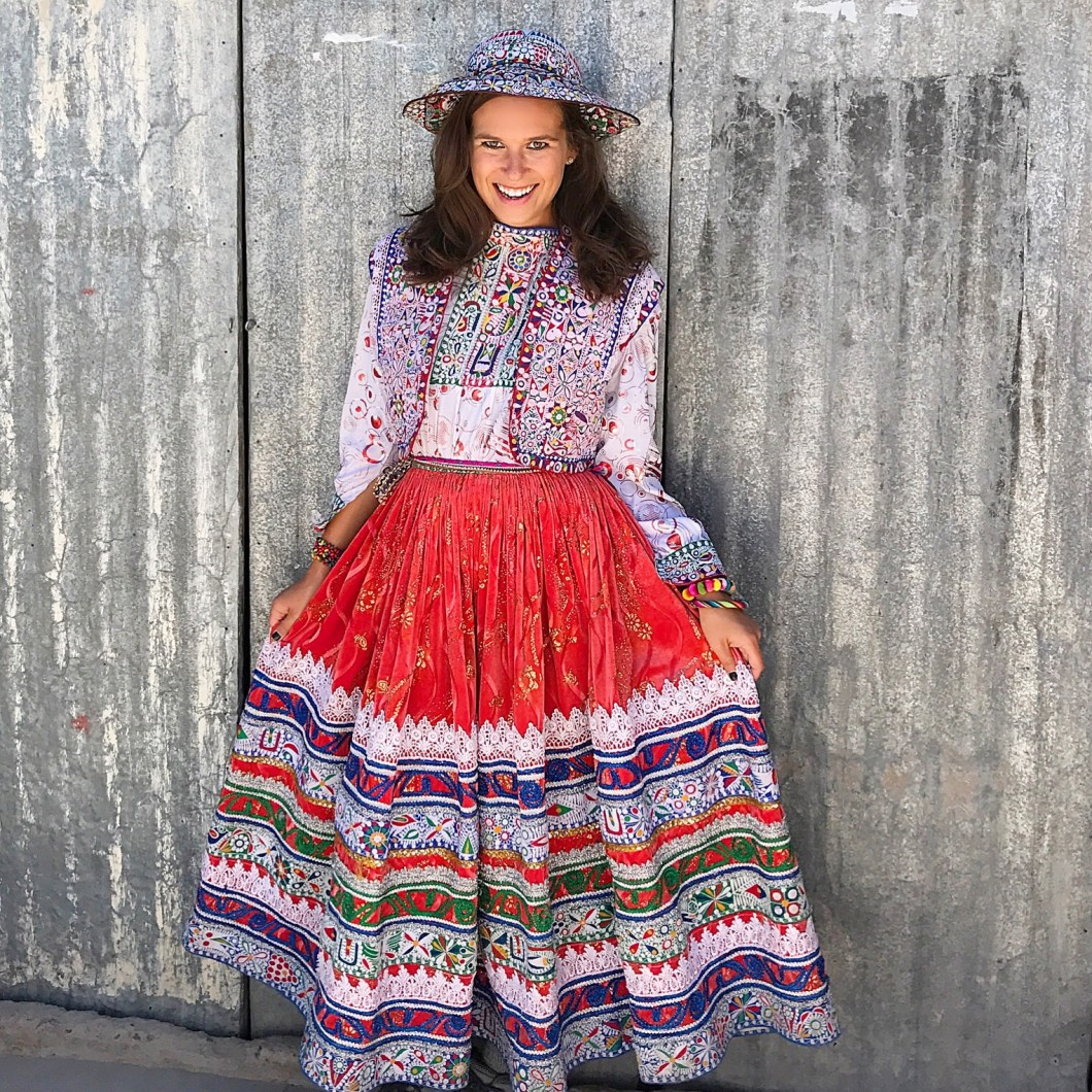 Peruvian embroidered clothes