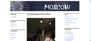 Far From Moscow