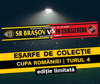 EȘARFE DE COLECȚIE SR Brasov FK Csikszereda Miercurea Ciuc
