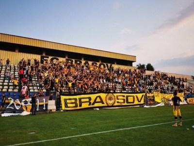 1272 bilete vandute la SR Brasov - FC Brasov
