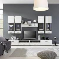 Wohnwand in Weiß von Mömax für 291,47 € ansehen