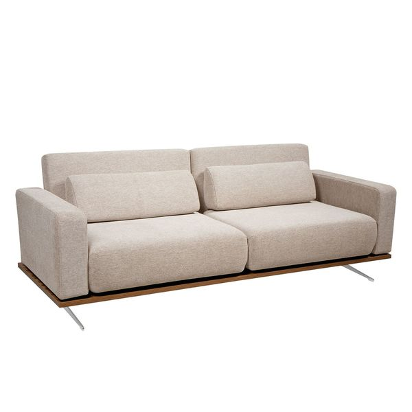 Schlafsofa Copperfield Schlafsofa Copperfield Ii Webstoff - Stoff Parsa Beige ...