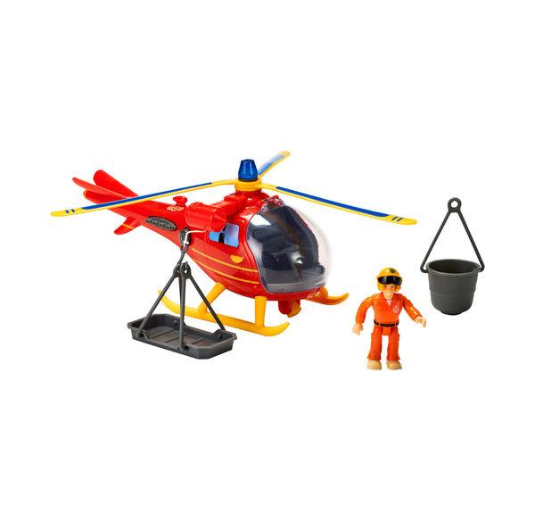 Feuerwehrmann Sam Hubschrauber mit realistischen Effekten