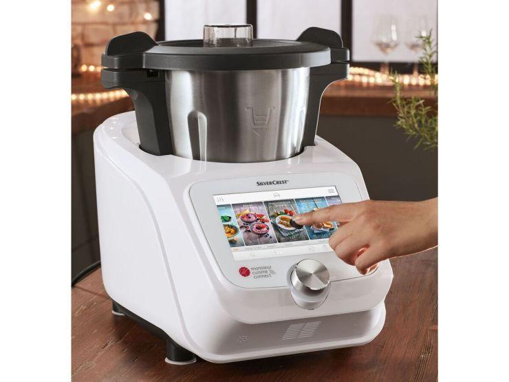 Silvercrest® Küchenmaschine Monsieur Cuisine Connect Skmc 1200 2021