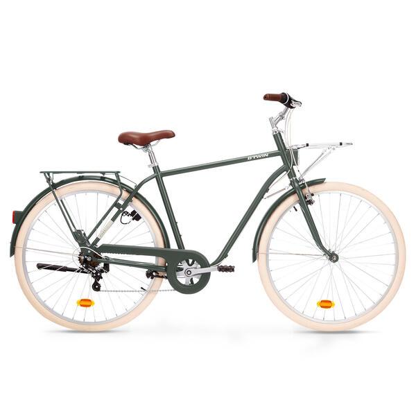 City Bike 28 Zoll Elops 520 HF Herren khaki von Decathlon ...