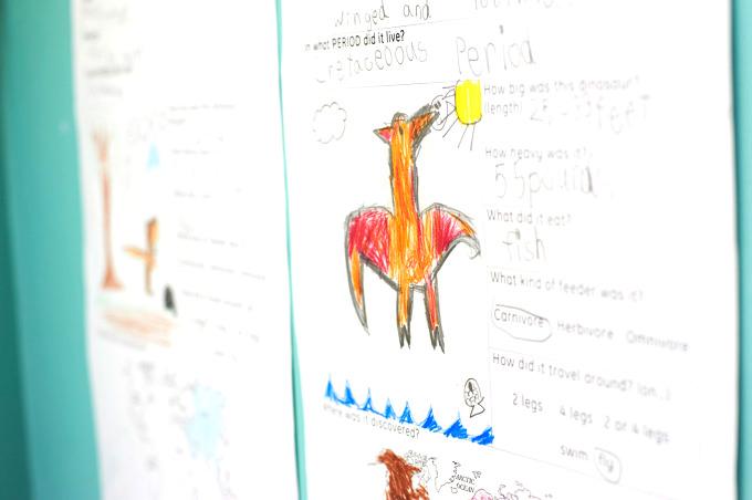 立川・国立・日野エリアの人気プリスクール「Global Step Academy International School」の子ども達がまとめた英語レポート。