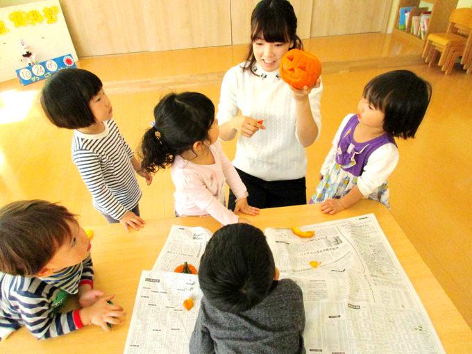 「NYこどものくに<東京>」のハロウィンでジャコランタン作りにチャレンジ