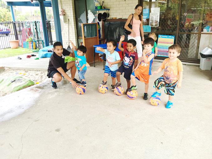 オーストラリア親子留学…プリスクール留学の様子