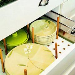 Kitchen Cutlery Trash Can Ideas 创意厨房之盘碟收纳厨房餐具收纳 新浪家居 厨房餐具收纳
