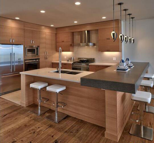 design kitchen cheap cabinets for 建一个 烹饪天堂 精致厨房设计8款 新浪家居