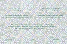 Tarjetón de invitación con azulejos Casa Pilatos