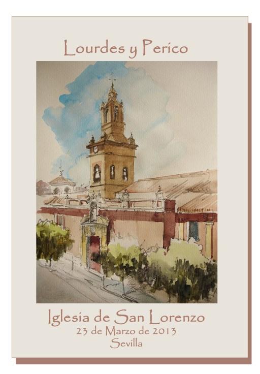 Portada Misal Iglesia San Lorenzo