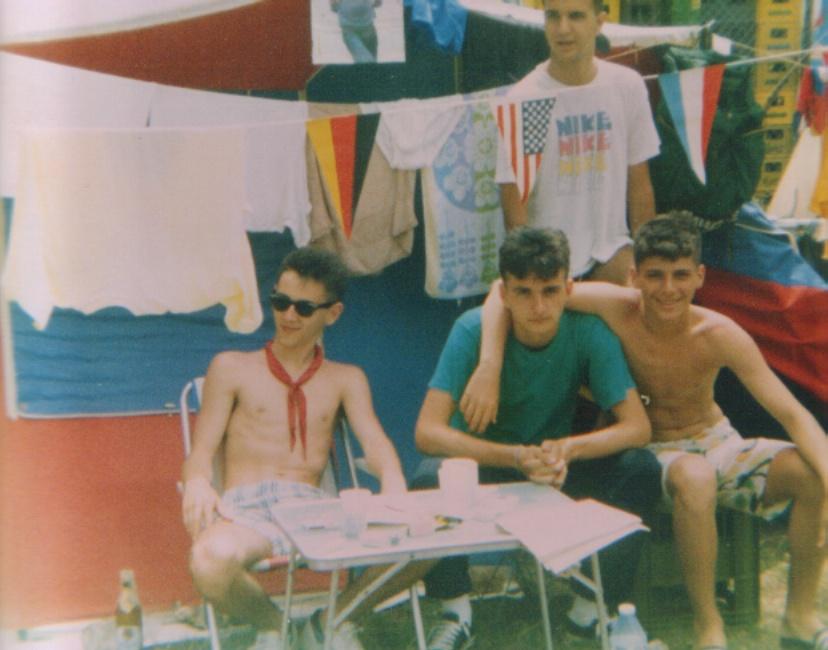 Medulin, leto 1989.