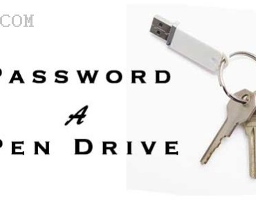 How To Protect USB Pen drive With Password 4
