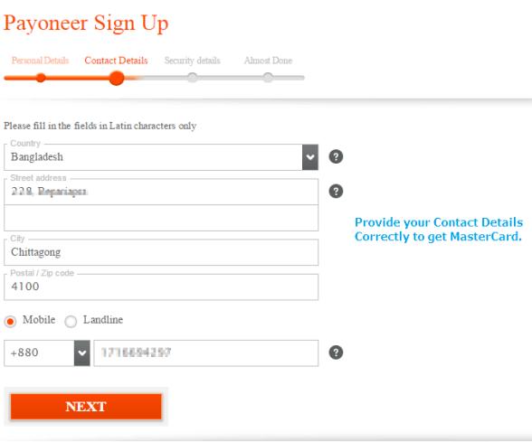 payoneer-contact-details