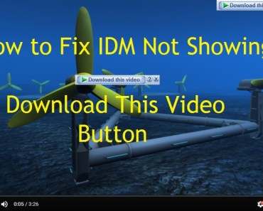"How to Fix IDM Not Showing ""Download This Video"" Button 7"