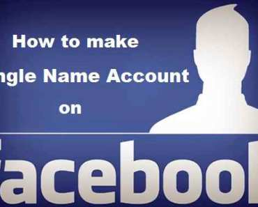 How to Create Single Name on Facebook without Proxy in 2018 6