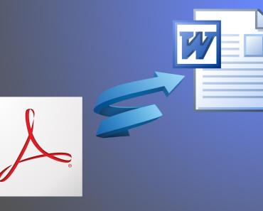 How to Convert PDF Files to Word Format (.doc, docx) free 1