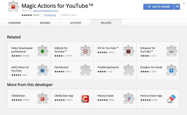 magic action youtube