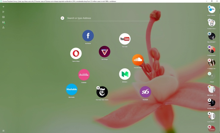 Opera Neon Linux – Download Opera Neon Browser for Linux ( Offline Installer)
