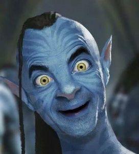 Funny-Avatar-Mr-Bean-Smiling-Photoshop-Image