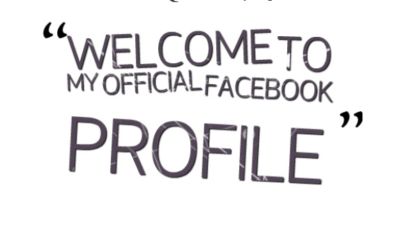 Welcome to my official Facebook profile – FB intro Featured Photos