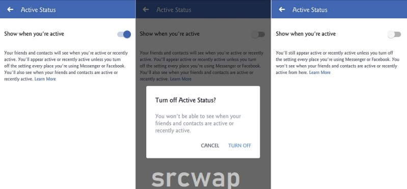 Change Active Status on facebook app - How to Appear offline on Facebook Chat Android iOS