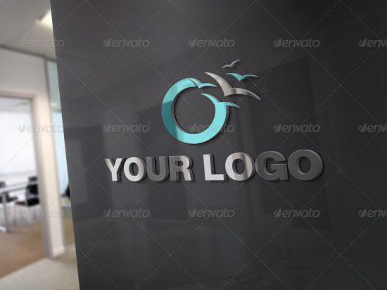 25+ Best 3D Logo Mockup Adobe PSD & Vectors 18