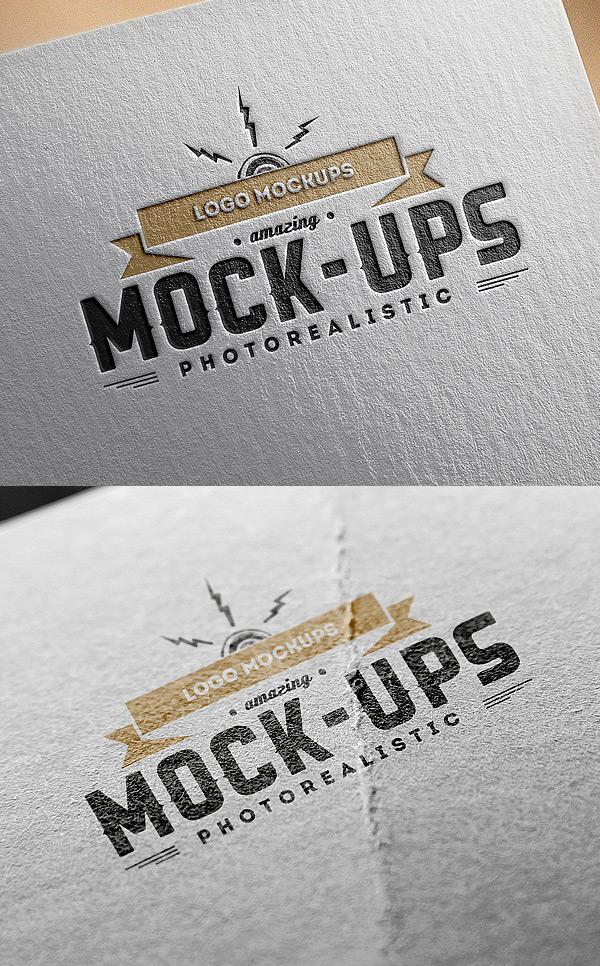25+ Best 3D Logo Mockup Adobe PSD & Vectors 24