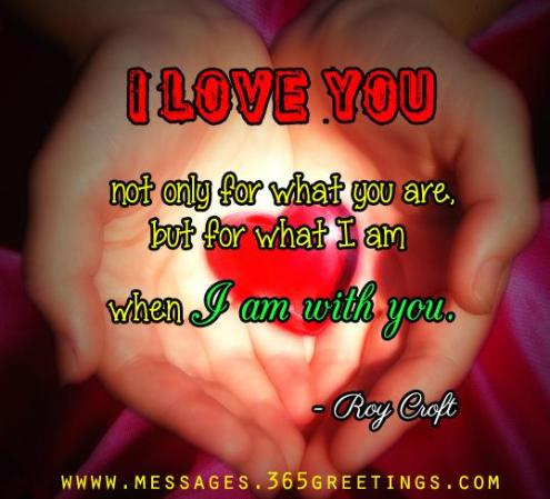 Quotes of love for him