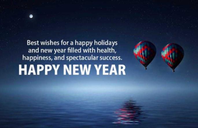 Happy New year 2021 Quotations moon hd