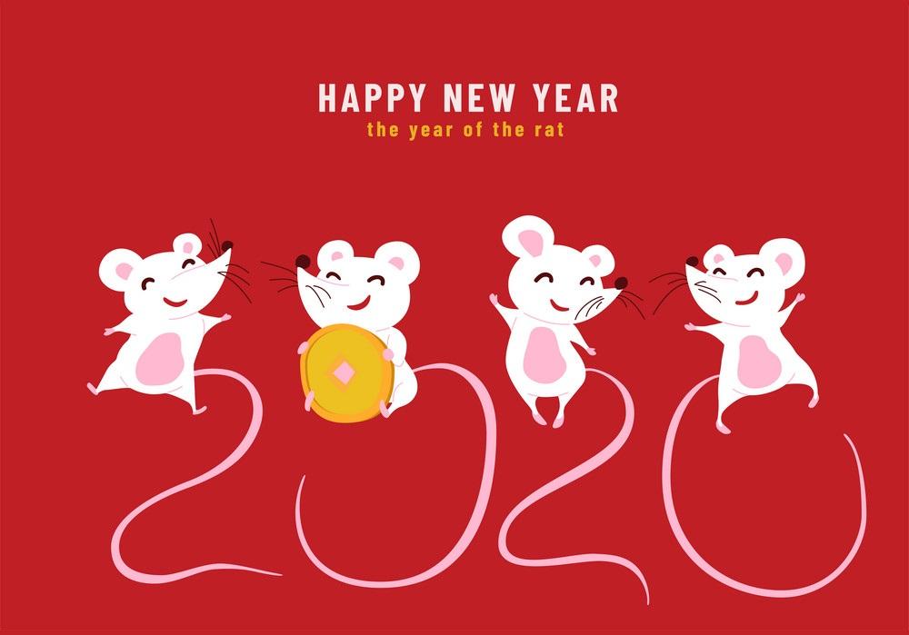 Happy New Year 2021 Funny Rats