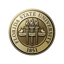 Seal of the Florida State University -- Cortni completed MA in English literature in 2014