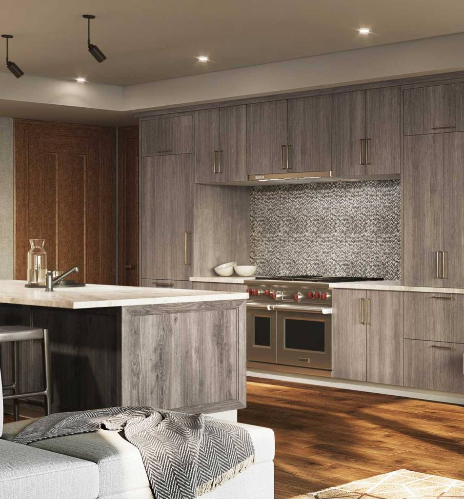 The Snow Park Residences at The St. Regis Deer Valley - Kitchen Rendering