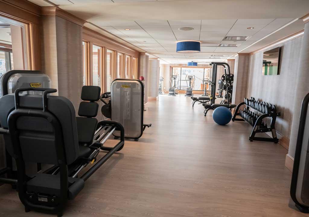 The St. Regis Deer Valley's Fitness Room