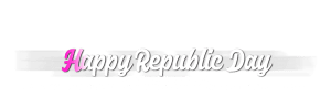 Republic day png Text