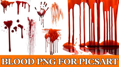 BLOOD PNG FOR PICSART