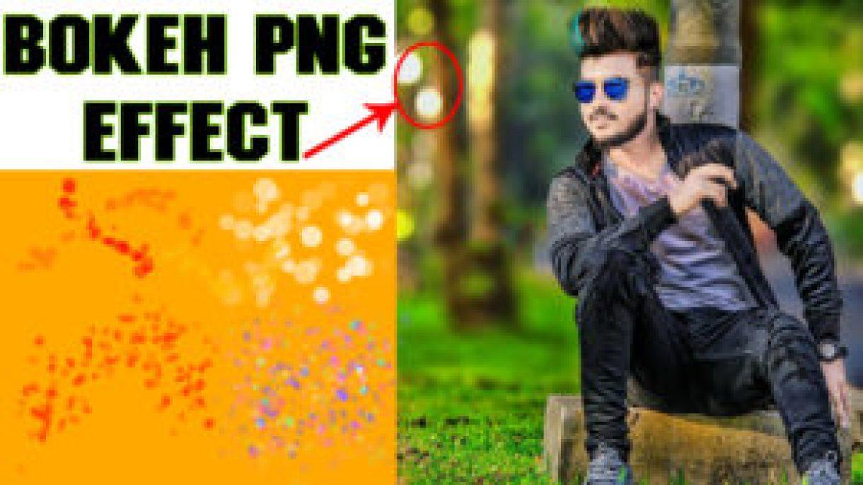 bokeh png effect