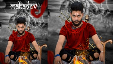 Shivratri photo editing