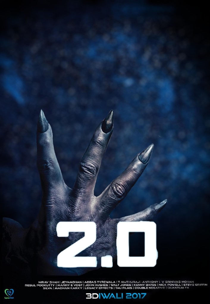 Robot 2.0 Poster Background