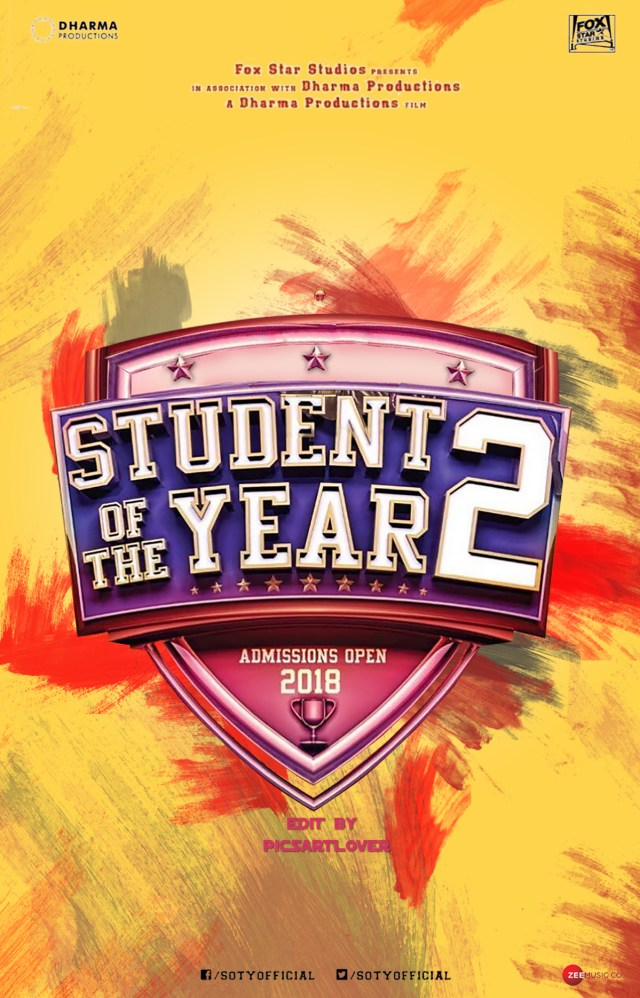 student of year 2 movie poster background