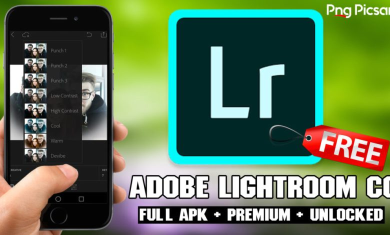 Adobe Photoshop Lightroom Premium apk
