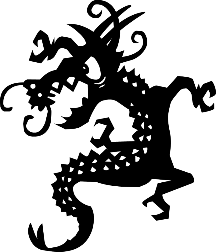 dragon tattoo Png