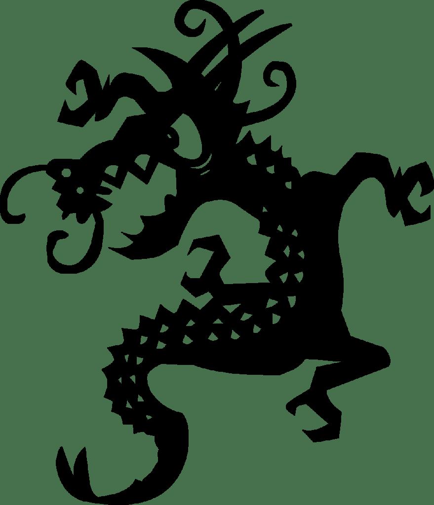 dragon tattoo Png
